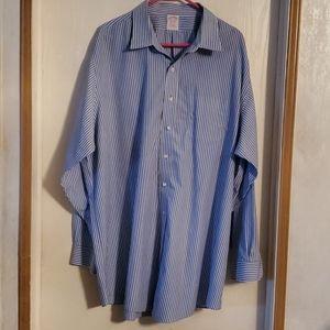 Brooks Brothers Men's Dress Shirt, Size 18 1/2 -36